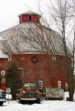 Round Barn 92nd St. Bowne Twp. Kent County by Kristine Detmers