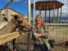 Stacy N. with the Dromedary Camel