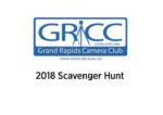 2018 Scavenger Hunt Results