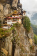 Tigers Nest in the Himalayas