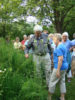 Ranger Steve leading a field trip at Ody Brook